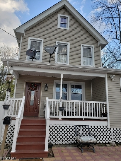Plainfield City Single Family Home For Sale: 309-11 Fillmore Ave