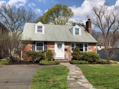 Scotch Plains Twp. Single Family Home For Sale: 315 Westfield Rd