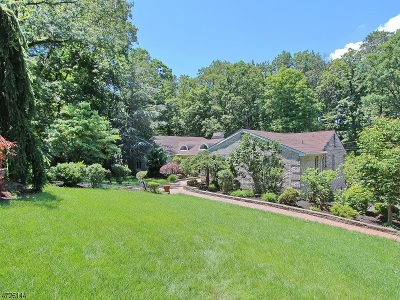 WATCHUNG Single Family Home For Sale: 66 Mareu Dr