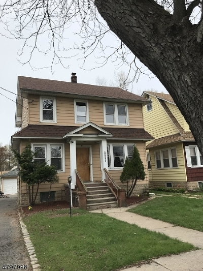 ROSELLE Single Family Home For Sale: 1258 Chestnut St