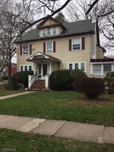 Clifton City, Passaic City Single Family Home For Sale: 301 3rd St