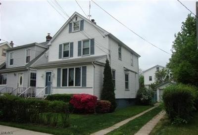 Roselle Park Boro Single Family Home For Sale: 208 Sherman Ave