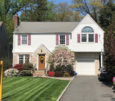 Nutley Twp. Single Family Home For Sale: 161 Ridge Rd