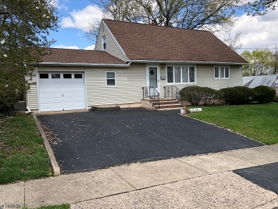 Nutley Twp. Single Family Home For Sale: 6 Craig Pl