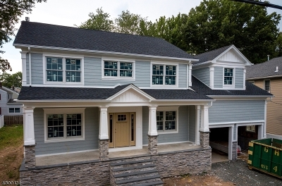 Cranford Twp. Single Family Home For Sale: 23 Normandie Place