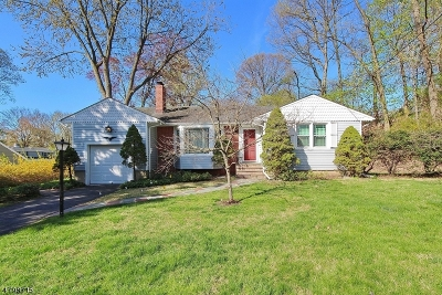 MOUNTAINSIDE Single Family Home For Sale: 337 Old Tote Road