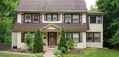 West Orange Twp. Single Family Home For Sale: 244 S Valley Rd