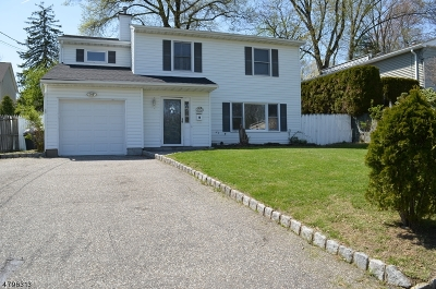 Parsippany-Troy Hills Twp. Single Family Home For Sale: 301 Marcella Rd