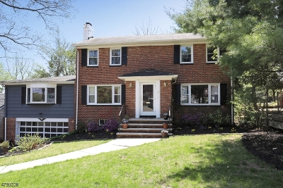 West Orange Twp. Single Family Home For Sale: 24 Florence Pl