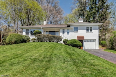 West Orange Twp. Single Family Home For Sale: 17 Gregory Ave