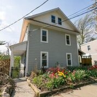 Morristown Town Multi Family Home For Sale: 81 Chestnut St