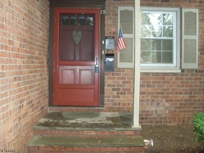 Millburn Twp. NJ Rental Rented: $1,500 (Condo-Rental)