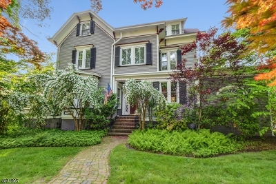 CRANFORD Single Family Home For Sale: 35 Central Ave
