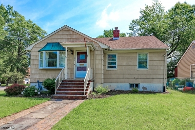 Clark Twp. Single Family Home For Sale: 184 Broadway