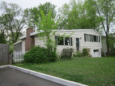 Fanwood Boro Single Family Home For Sale: 36 Glenwood Rd