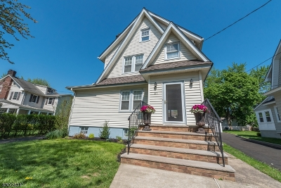 Maplewood Twp. Single Family Home For Sale: 27 Coolidge Rd