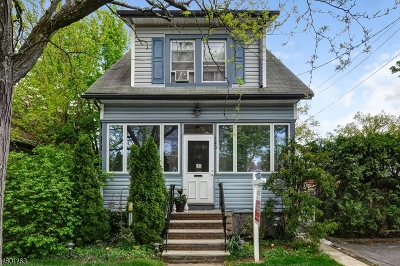 Maplewood Twp. Single Family Home For Sale: 123 Lexington Ave