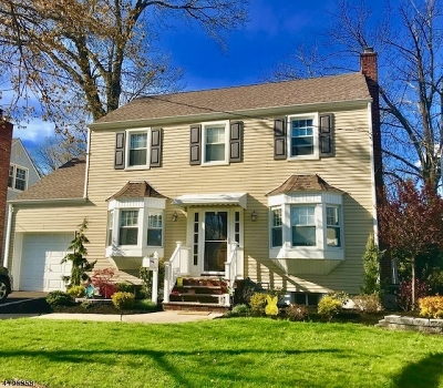 Rahway City Single Family Home For Sale: 449 Grove St