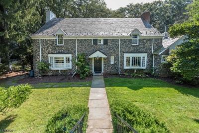 South Orange Village Twp. Single Family Home For Sale: 484 Harding Dr