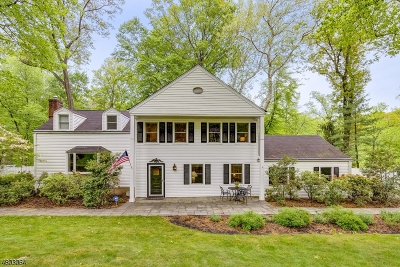 Morris Twp. Single Family Home For Sale: 29 Harwich Rd