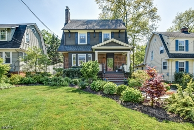Maplewood Twp. Single Family Home For Sale: 50 Sommer Ave