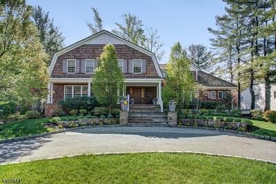 Millburn Twp. Single Family Home For Sale: 52 Winthrop Rd