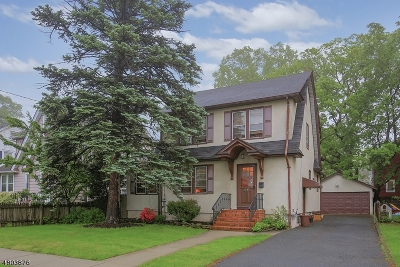 Roselle Park Boro Single Family Home For Sale: 60 W Colfax Ave