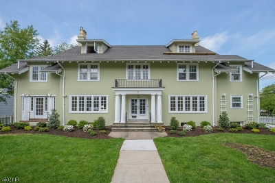Montclair Twp. Condo/Townhouse For Sale: 41 Plymouth St #B
