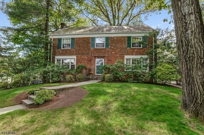 South Orange Village Twp. Single Family Home For Sale: 25 Blanchard Rd