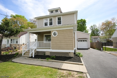 Scotch Plains Twp. Single Family Home For Sale: 344 Myrtle Ave