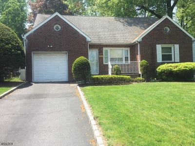 Union Twp. Single Family Home For Sale: 380 Pitcher Ter