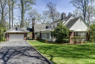 West Orange Twp. Single Family Home For Sale: 12 Ashley Rd