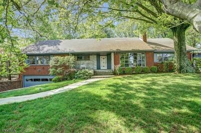 South Orange Village Twp. Single Family Home For Sale: 179 Crestwood Dr