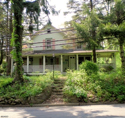 Peapack Gladstone Boro Single Family Home For Sale: 34 Holland Ave