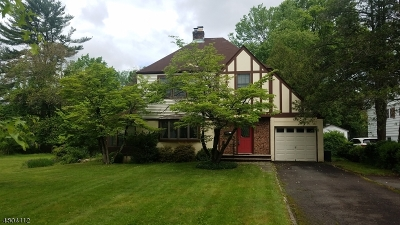 Florham Park Boro Single Family Home For Sale: 123 Cathedral Ave