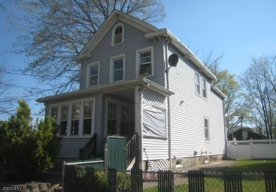 RAHWAY Single Family Home For Sale: 309 William St