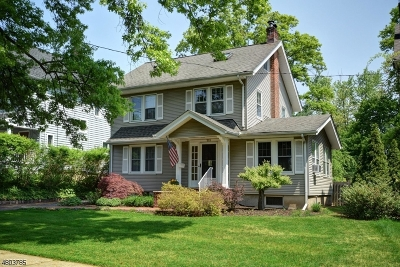 WESTFIELD Single Family Home For Sale: 711 Westfield Ave