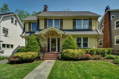 Maplewood Twp. Single Family Home For Sale: 13 Madison Ave