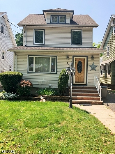 Roselle Park Boro Single Family Home For Sale: 632 Hemlock St