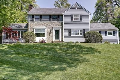 Millburn Twp. Single Family Home For Sale: 41 Hilltop Rd