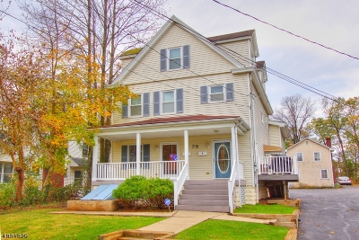 Springfield Twp. Condo/Townhouse For Sale: 79-A Tooker Ave #A
