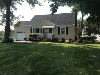 LINDEN Single Family Home For Sale: 601 Fairway Rd