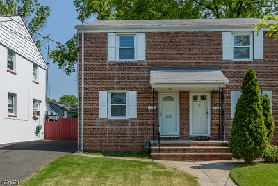 RAHWAY Single Family Home For Sale: 769 W Scott Ave