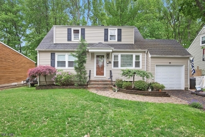 Cranford Twp. Single Family Home For Sale: 26 Roselle Ave