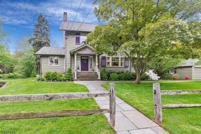 CRANFORD Single Family Home For Sale: 107 Riverside Dr