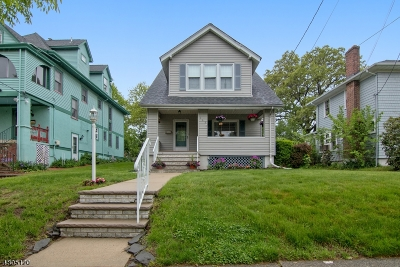 Nutley Twp. Single Family Home For Sale: 363 Chestnut St