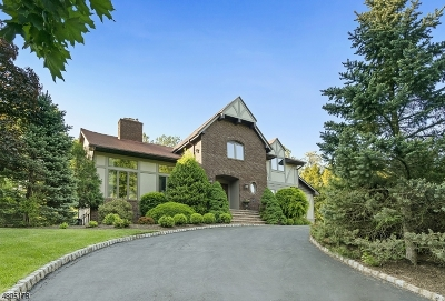 Millburn Twp. Single Family Home For Sale: 5 Chapel Hill Rd