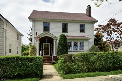 LINDEN Single Family Home For Sale: 22 W Curtis St