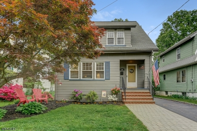 Cranford Twp. Single Family Home For Sale: 160 Hillcrest Ave