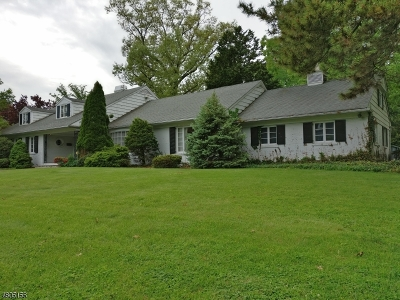 Montclair Twp. Single Family Home For Sale: 27 Heller Dr